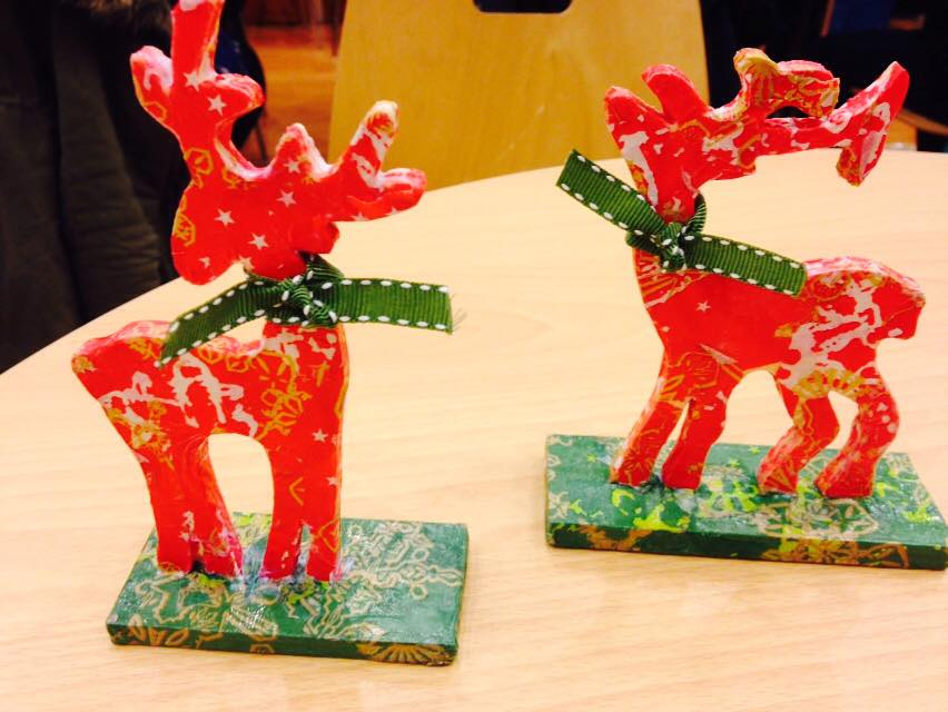 Adult Decopatch Christmas Crafts