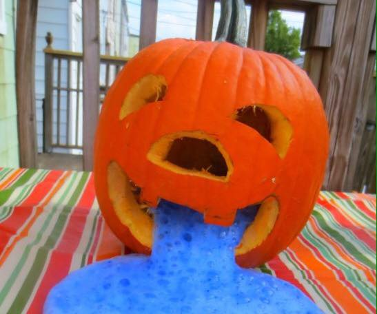 Halloween Messy Play party