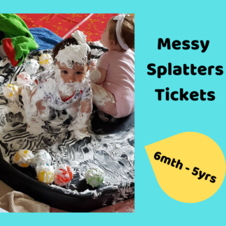 Messy Splatter Events Available to Book